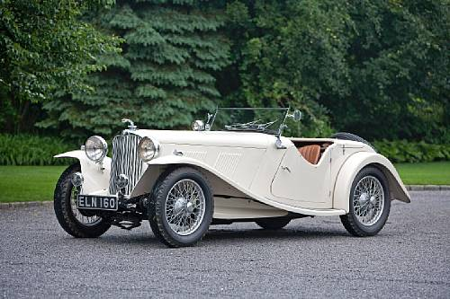 1937 AC 16/80 Competition Model Sports Two Seater Sold for $166,500