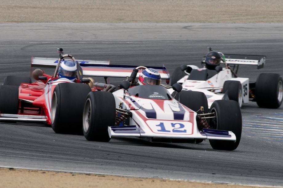 Seb Coppola's 1970 Lola T192 in turn two.