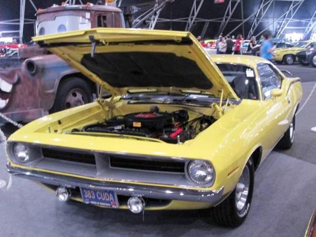 1970 Plymouth 'Cuda 2-Dr. Hardtop