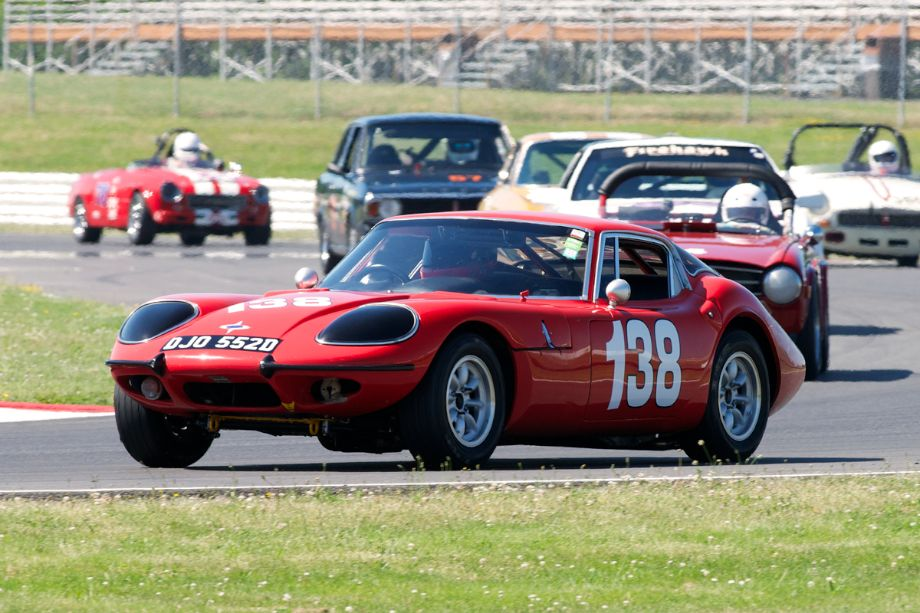 Mike Denman's Marcos 1800GT.