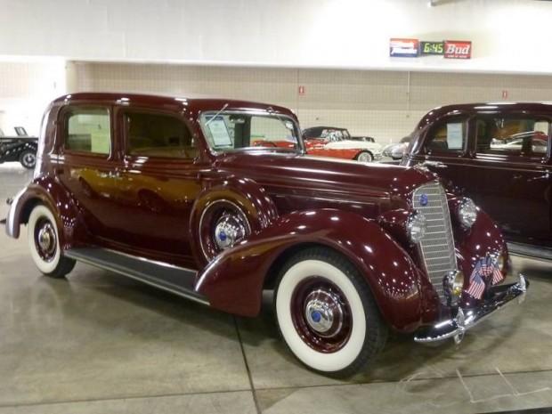 1935 Lincoln Model K V-12 4-Dr. Sedan