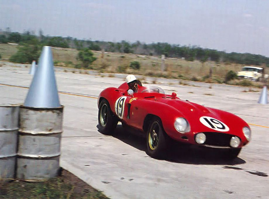 Ferrari 857 Sport at 1956 Sebring 12 Hours