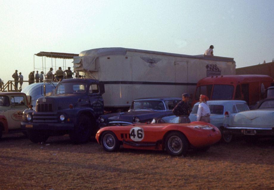 Maserati 150S at 1956 Sebring Twelve Hours