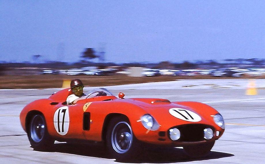 Ferrari 860 Monza at 1956 Sebring 12 Hours