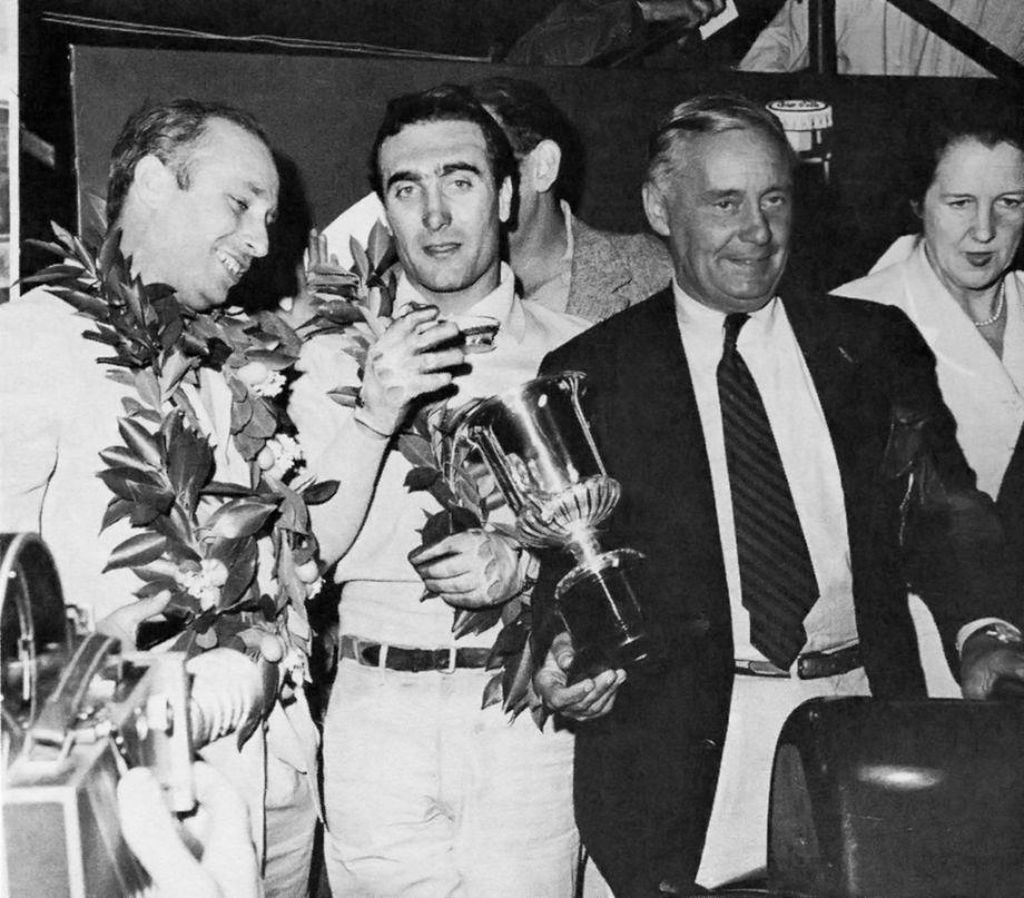 Winners of the 1956 Sebring 12 Hours