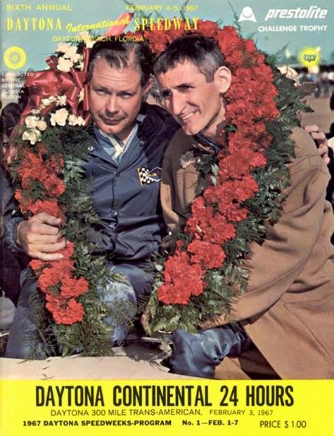 1967 Daytona 24 Hours program