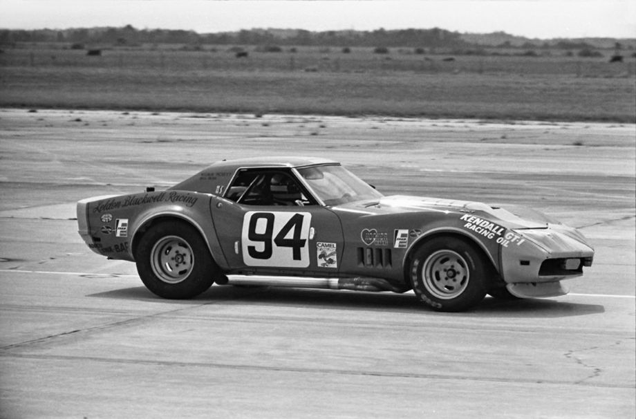 Dr. Wilbur Pickett and Bill Bean finished 16th in this Leldon Blackwell entered Corvette C3