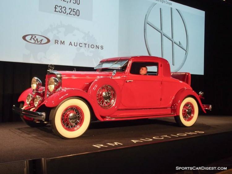 1932 Hupmobile 226 Eight Coupe