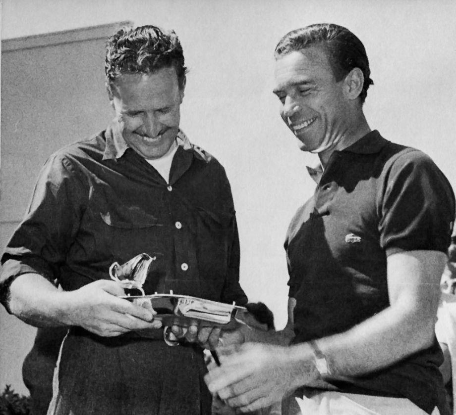 Jim Pauley and Porfirio Rubirosa 1956 Sebring 12 Hours