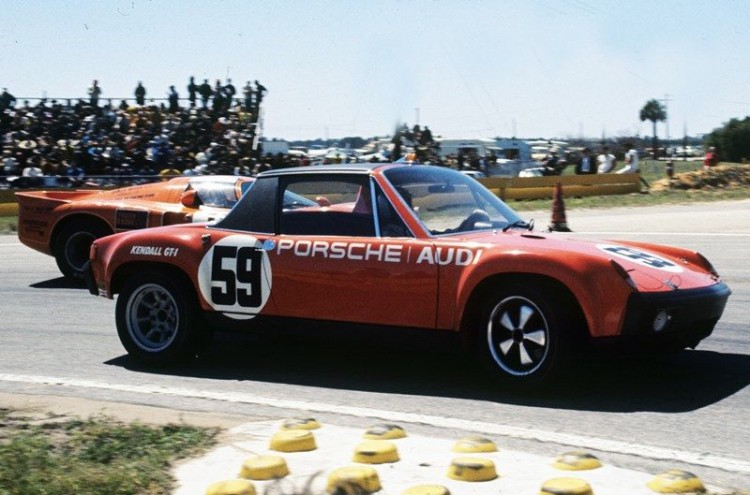 The 914/6 GT, Sebring 1971-wearing Brumos' famous #59, Peter Gregg and Hurley Haywood took this car to 14th Overall and 2nd in class GTU. (Photo: Bill Warner)