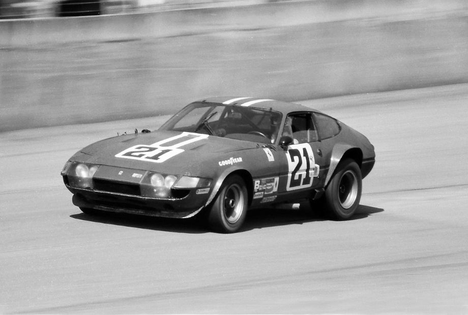 In fifth place was the NART Ferrari driven by Luigi Chinetti, Jr., Bob Grossman and Wilbur Shaw, Jr.  Louis Galanos photo.