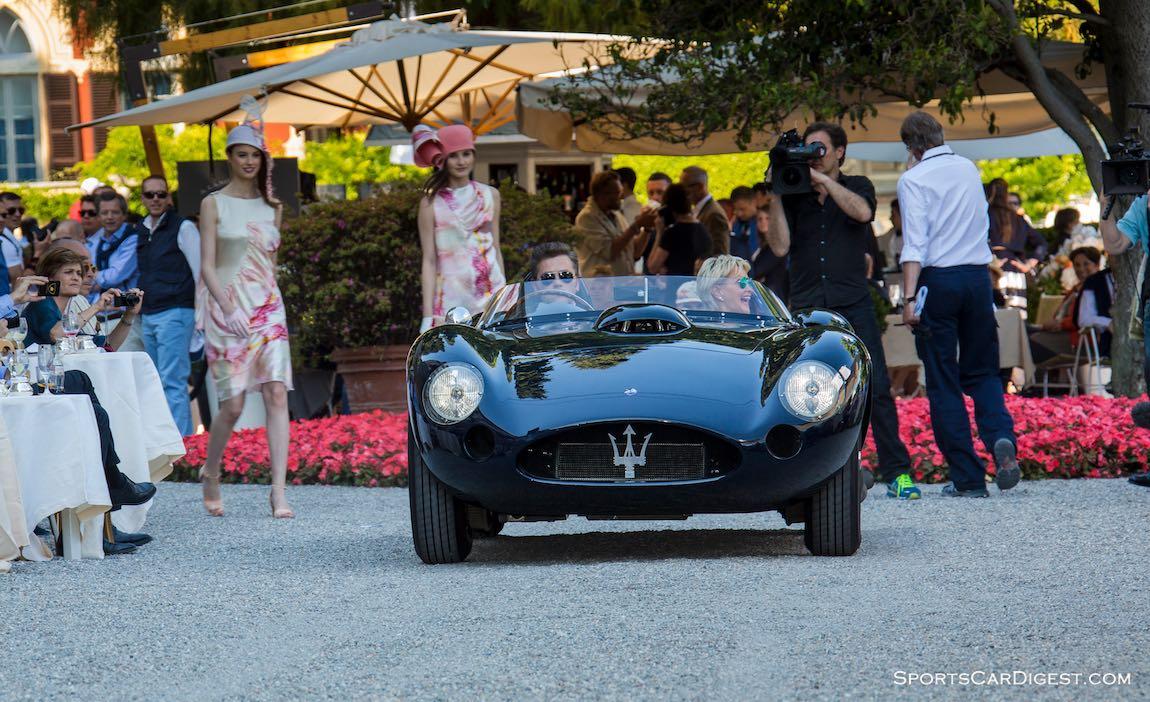 1956 Maserati 450S Fantuzzi Roadster