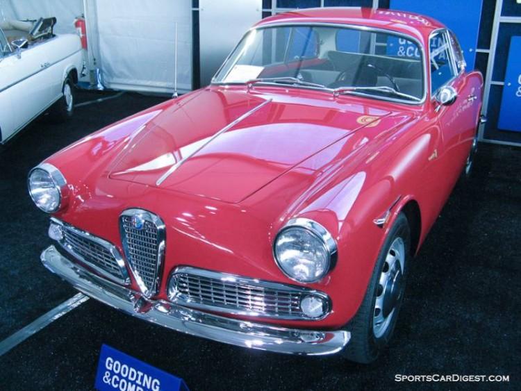 1961 Alfa Romeo Giulietta Sprint Coupe, Body by Bertone