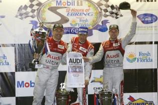 Tom Kristensen, Dindo Capello, Allan McNish, 12h Sebring 2012