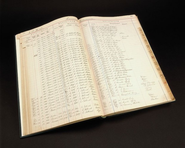 Vehicle birth certificates: the passenger car orders are documented in these Daimler-Motoren-Gesellschaft records