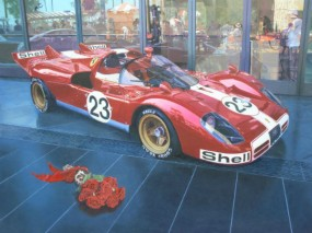 Nicola Wood Ferrari 512 S Painting
