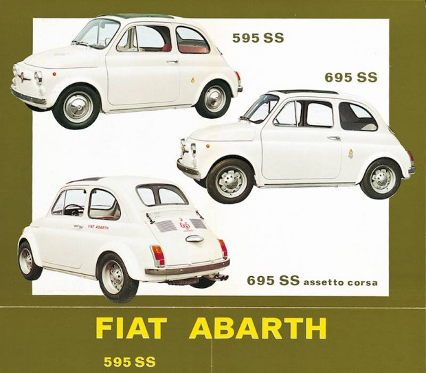 Fiat Abarth advertising, 1965