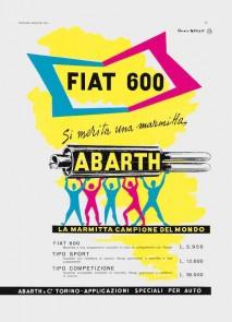 Abarth Exhausts advertisement, 1955