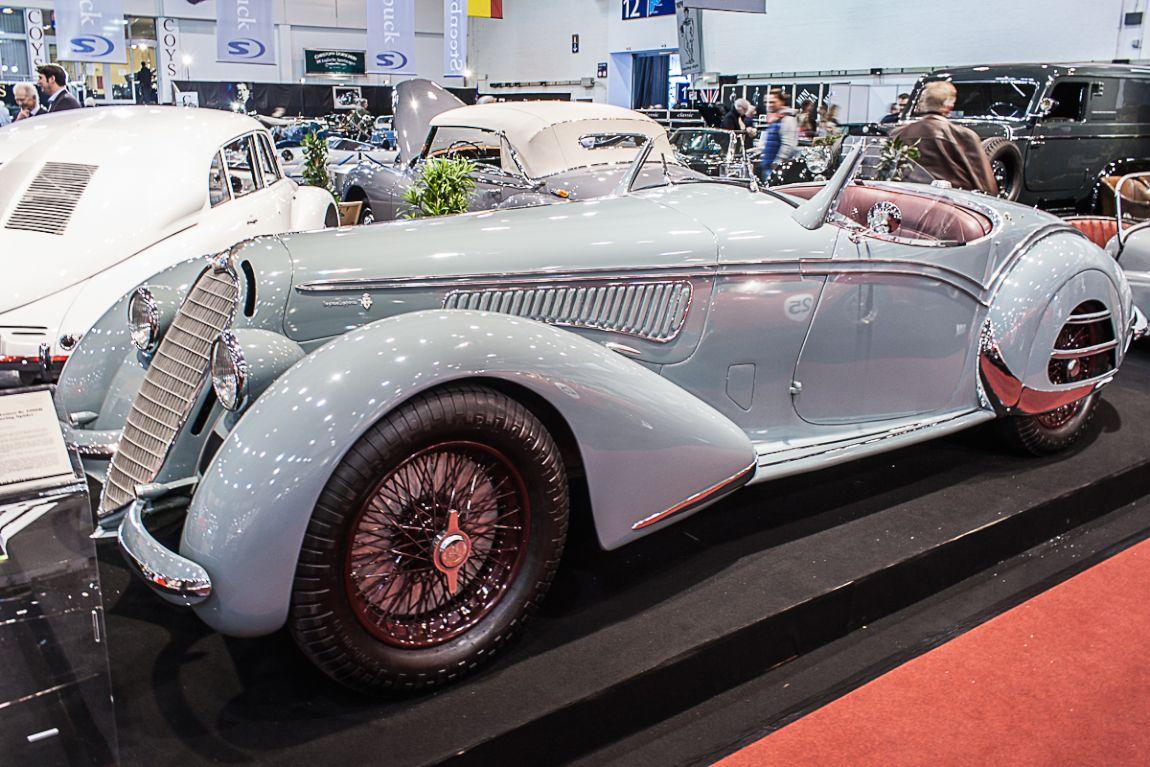 Alfa Romeo 8C 2900B Spider
