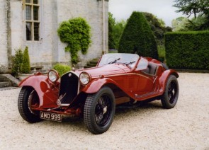 1932 Alfa 8C 2300 Touring Spider, the winner of the 1932 Mille Miglia.