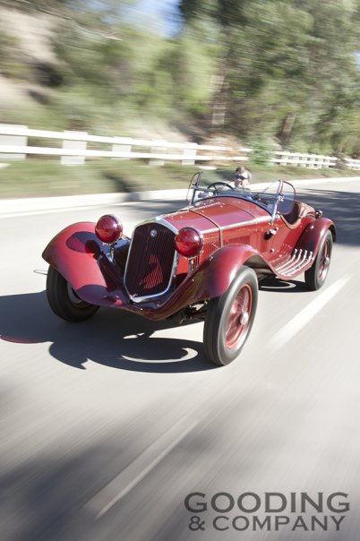 1932 Alfa Romeo 6C 1750 Series V Gran Sport with coachwork by Zagato
