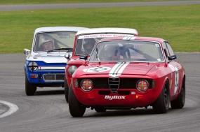 Alfa Romeo Guilia Sprint GT of Mark Garrit class winner