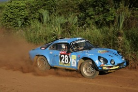 Renault Alpine A 110 of Charles Firmenich finished 34th