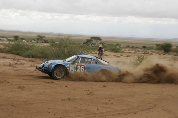 Renault Alpine A 110 of Erik Comas finished 37th overall