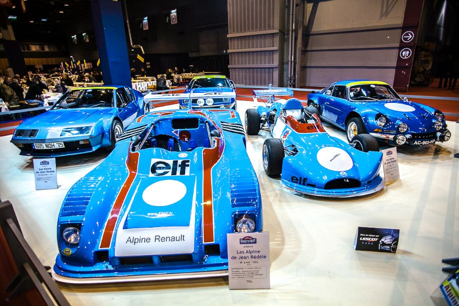 Alpine Renault tribute