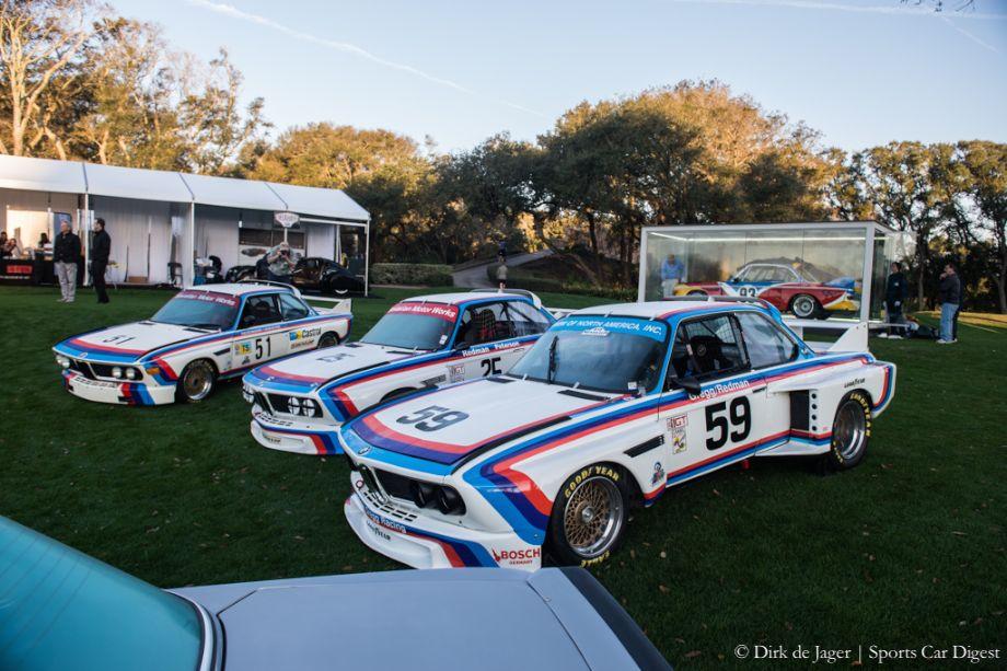1972 BMW 3.5 CSL Gr2, 1975 BMW 3.0 CSL Gr4, 1975 BMW 3.5 CSL and 1975 BMW 3.0CSL Gr4 Art Car