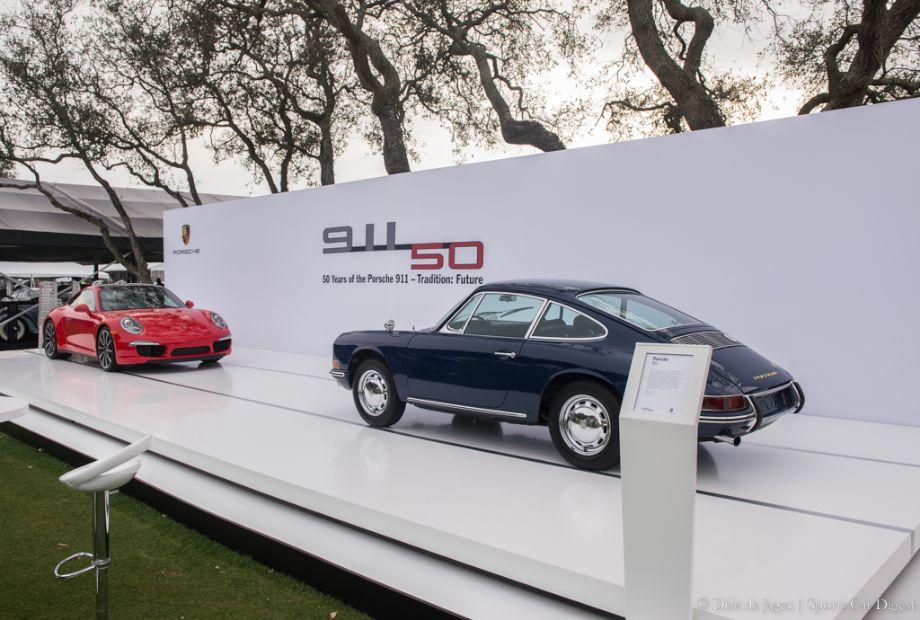 50 Years Porsche 911 display