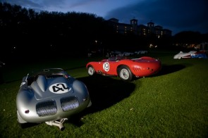1960 Porsche RS60 and 1957 Maserati 450S at Amelia Island Concours