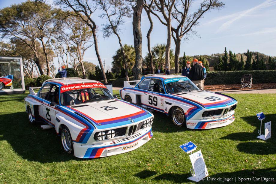 1975 BMW 3.0 CSL Gr4 and 1975 BMW 3.5 CSL1975 BMW 3.0 CSL Gr4 and 1975 BMW 3.5 CSL