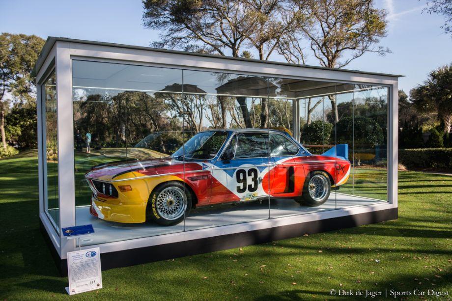 1975 BMW 3.0 CSL Group 4 Alexander Calder Art Car