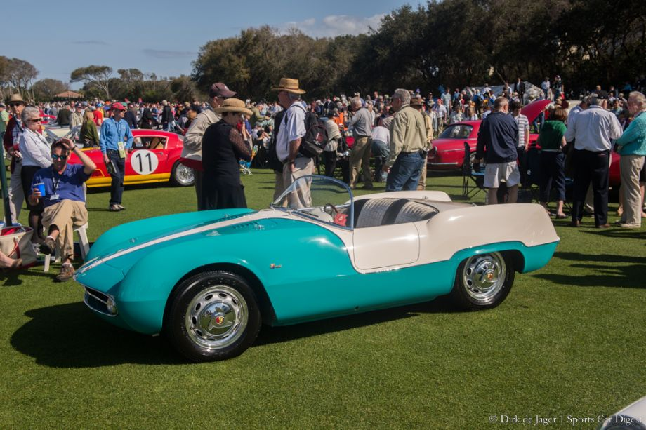 1955 Fiat Abarth Boano Spider