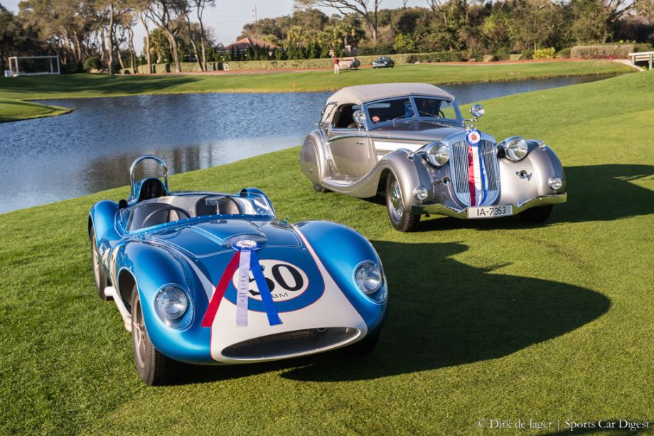 Best of Shows Winners - 1937 Horch 853 and 1958 Scarab