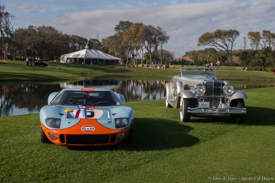 Best of Show Winners: 1968 Ford GT40 and 1936 Duesenberg SJN
