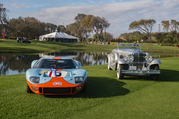 2013 Amelia Island Concours, Best of Shows: 1968 Ford GT40 and 1936 Duesenberg SJN