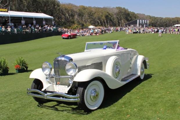 1935 Duesenberg SJN 564 Rollston Cabriolet