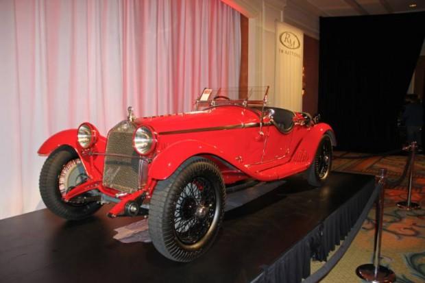 1930 Alfa Romeo 6C 1750 GS Spider, Body by Zagato