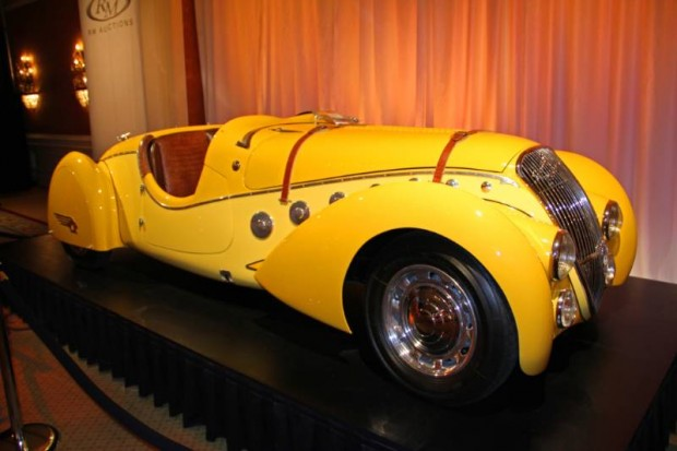 1938 Peugeot 402 Darl'mat Legere 'Special Sport' Roadster, Body by Pourtout