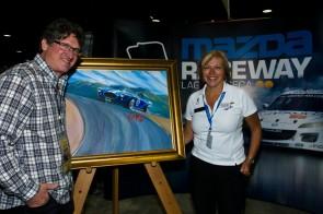 2012 Monterey Motorsport Reunion Official Poster Artwork