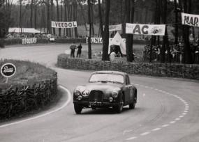Aston Martin DB2 at Le Mans, 1951