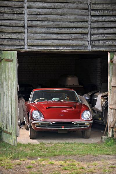 Aston Martin DBSC Coupe Barn