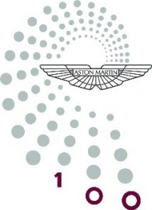 Aston Martin 100 Years Logo