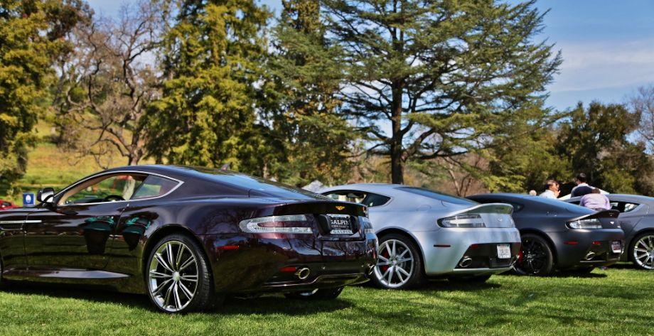 Latest Aston Martins