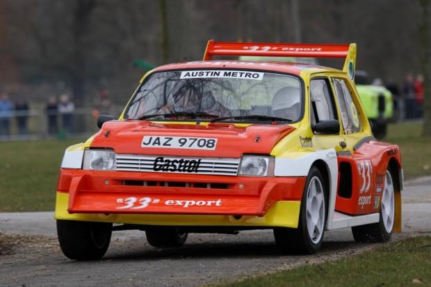 Austin Metro Group B Rally Car
