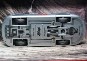 Underside of Auto Union Type C Streamliner by Schuco