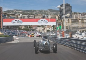 Auto Union Type C at Monaco Grand Prix
