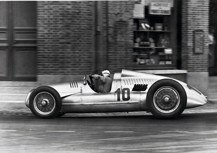 Auto Union Type D at the French Grand Prix